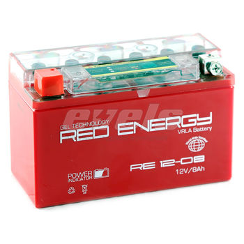 Red Energy RE12-08 (YT7B-BS 8 А/ч)